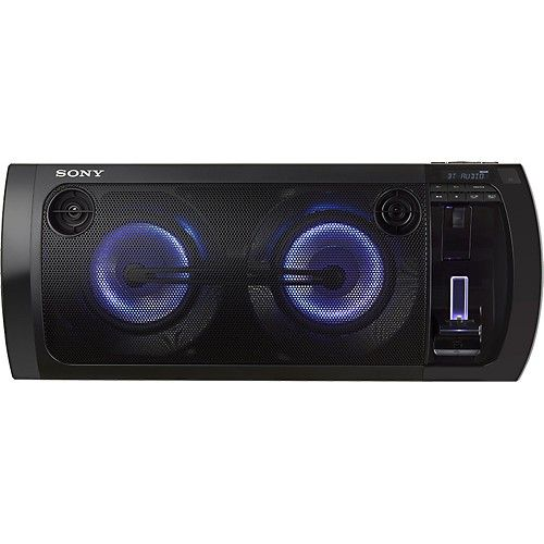 Best Buy Sony 420w Portable Party Speaker System With Apple Ipod And Iphone Dock Black Rdhgtk37ip Party Speakers Iphone Dock Apple Ipod
