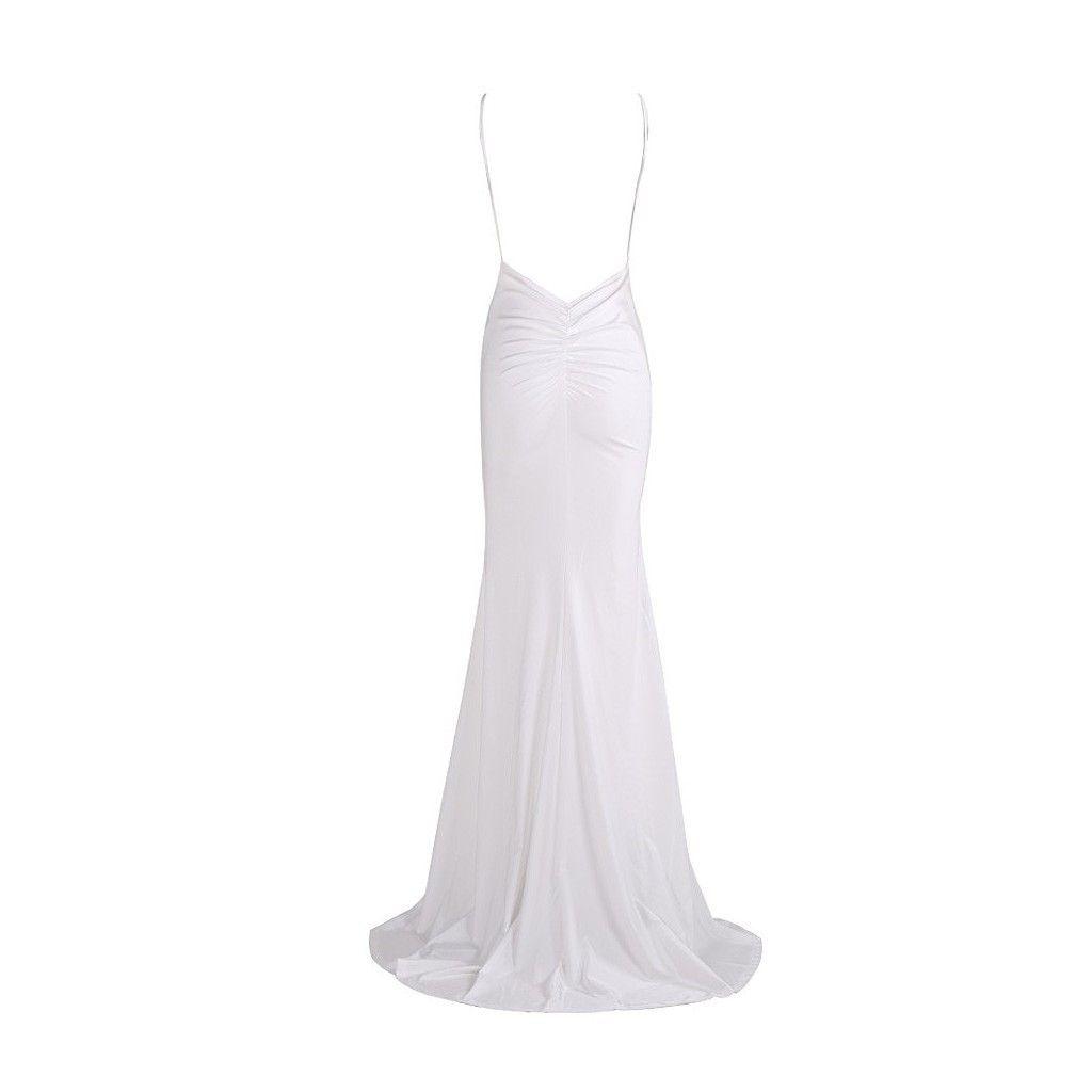 Plain white wedding gown ignition pinterest wedding gowns