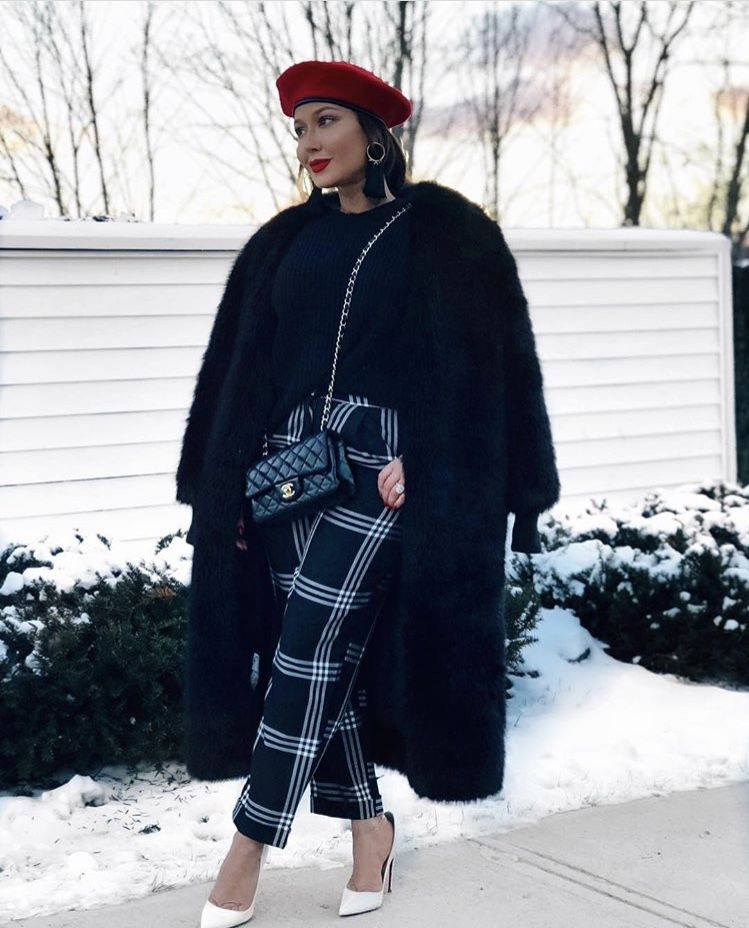 Adrienne Bailon Winter Outfits