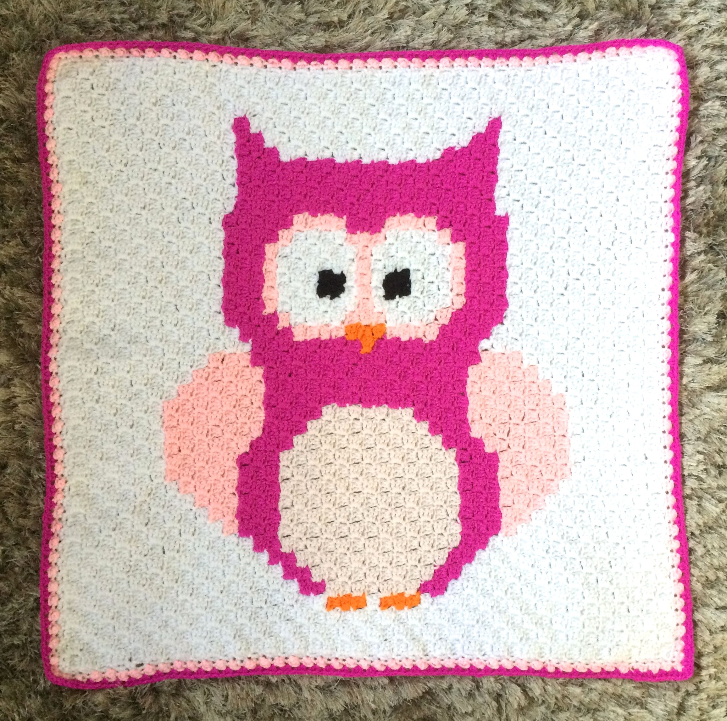 Handmade crochet owl blanket pattern by sarah zimmerman crochet handmade crochet owl blanket pattern by sarah zimmerman bankloansurffo Image collections