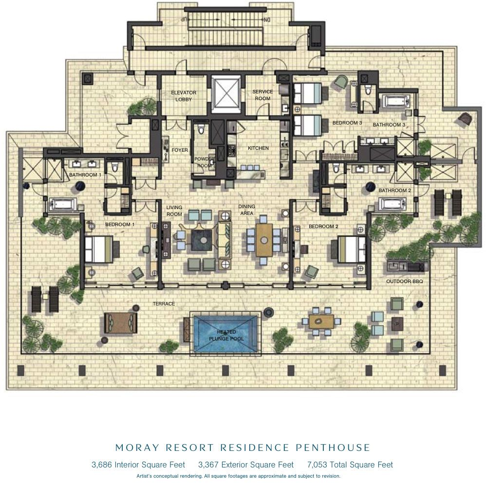 Luxury House Plans Designs: Luxurious Floor Plans
