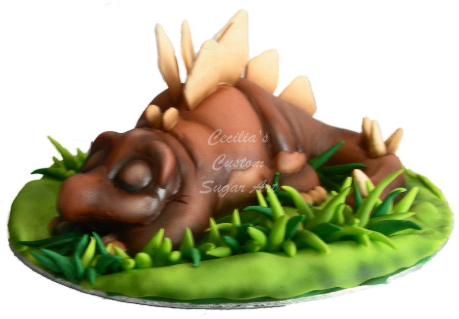 Dinosaur Cake Topper Edible 3d Figures Dinosaur Cake