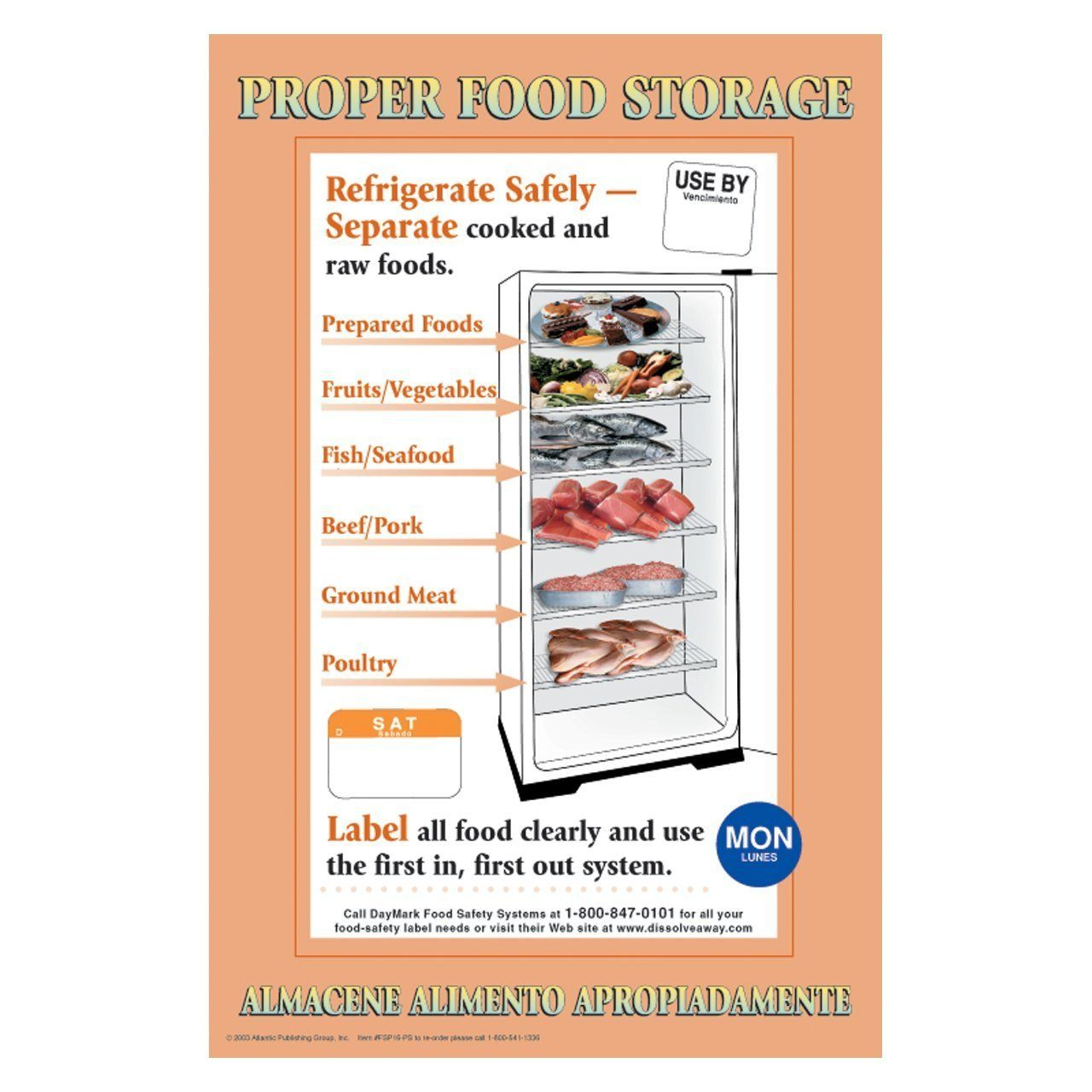 Proper Food Storage Requires Magnificent Proper Food Storage Poster Interesting About Remodel Home Design Decorating Design