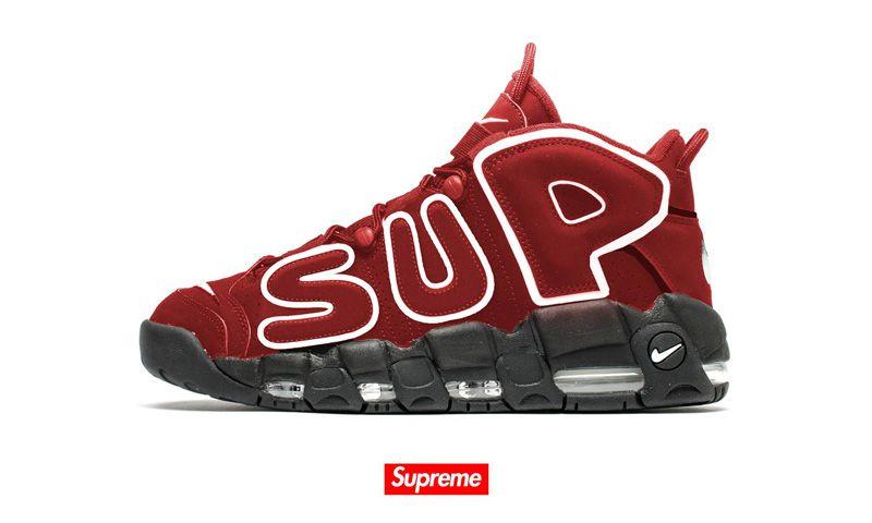 Supreme met de l'or sur la Air More Uptempo - Supreme est de retour dans le  monde du basket. Après un passage sur la Air Jordan 5 en 2015, la griff…