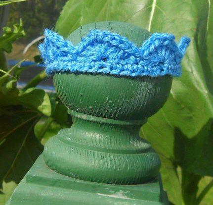 Free Crochet Crown Headband Pattern. | Free Crochet Fun Hat Patterns ...