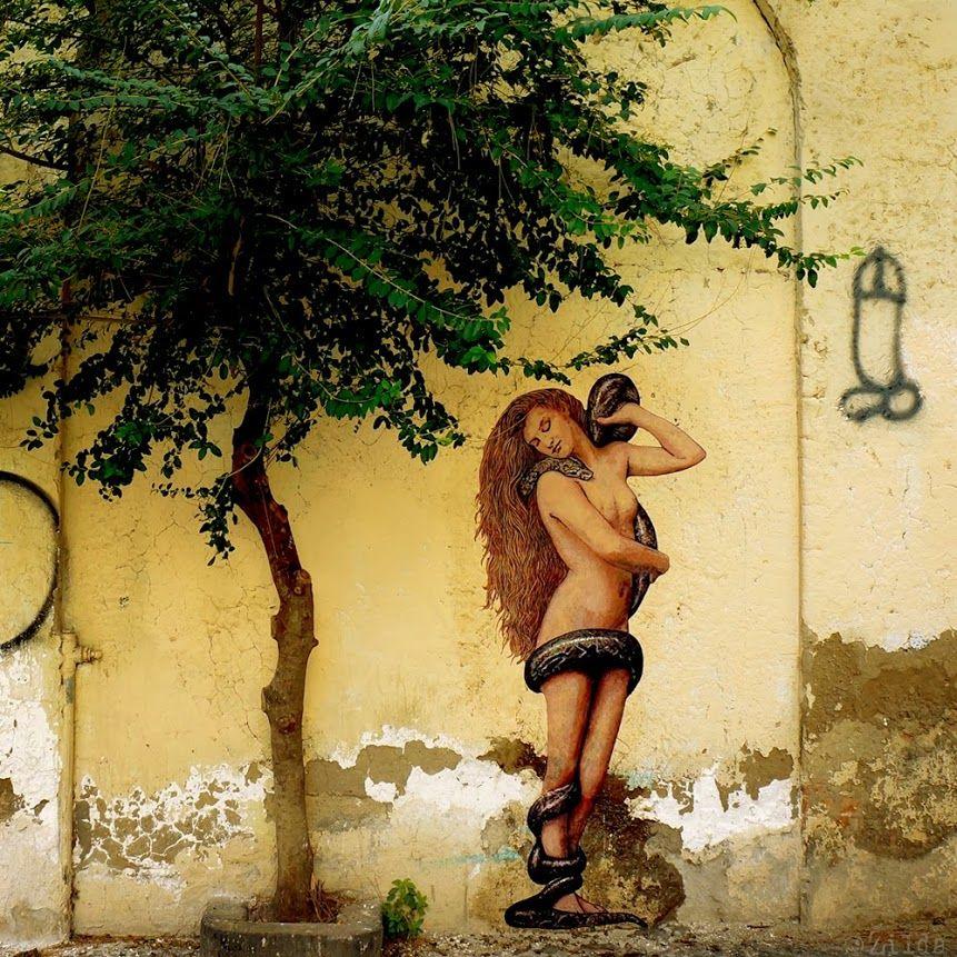 World Street Art - Zilda #streetart #urbanart #graffiti #urbanartists #wallmural #streetartists #murals #zilda