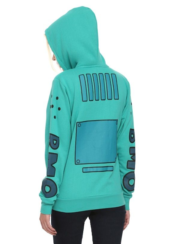 Adventure Time Bmo Cosplay Hoodie Happiness In