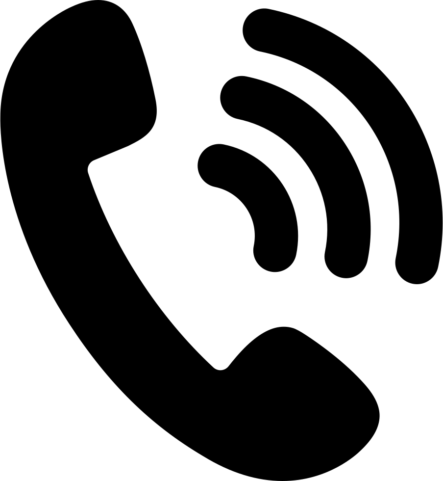 Free black telephone png icon photo free large images