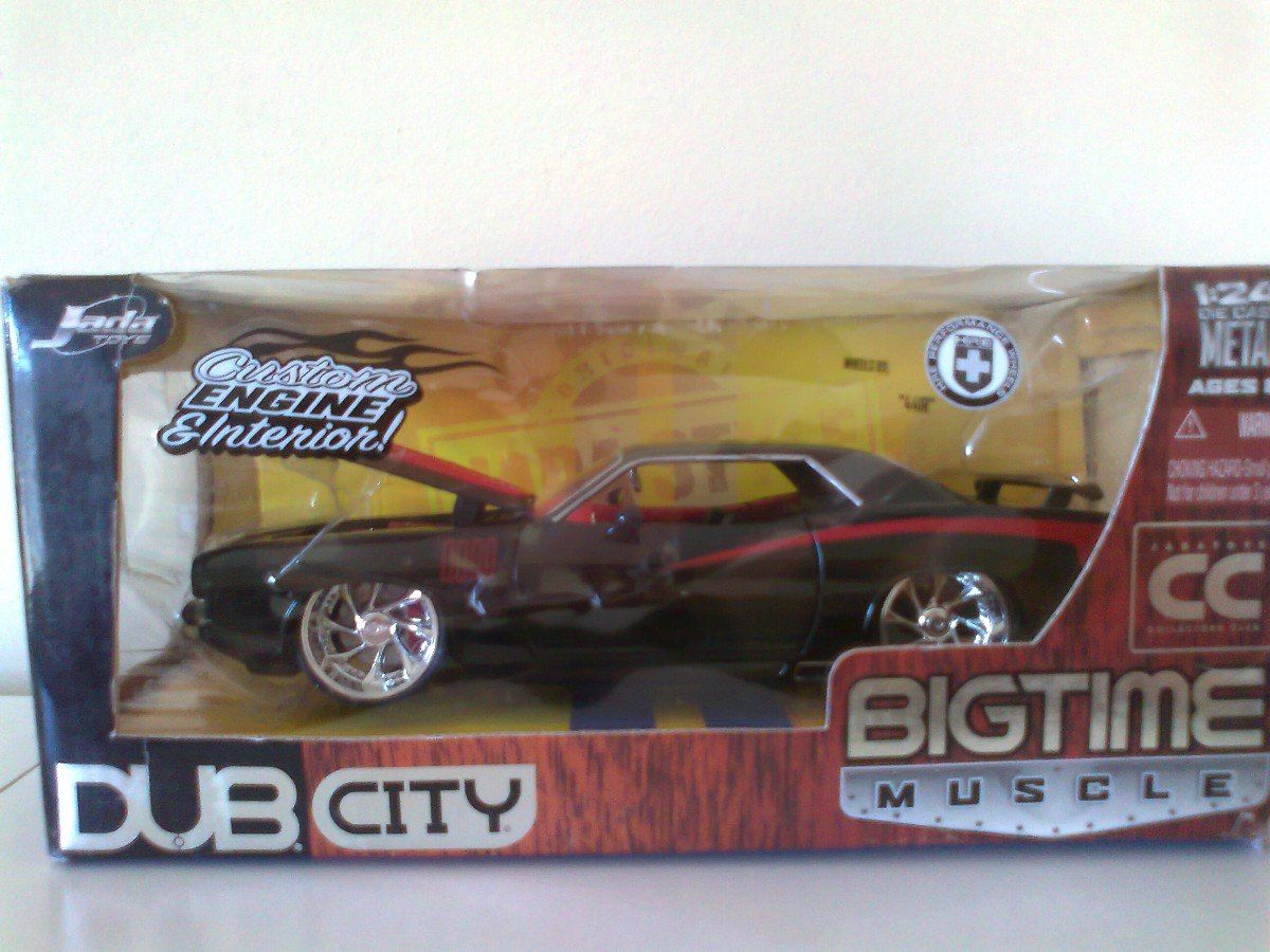 Jada Toys Dub City Kustoms 1 24 Big Time Vrios Custom V 8 Vega Blue Factory Seal