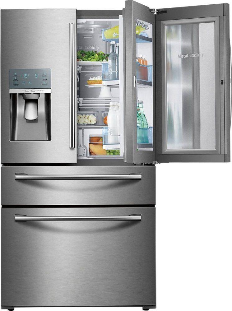 Samsung 27 8 Cu Ft 4 Door French Door Refrigerator With Food