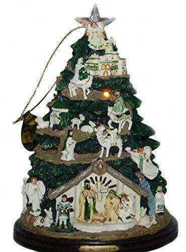 Thomas Kinkade Irish Nativity Tree Ornament Nativity Nativity