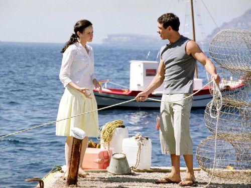 "FYI Kostas, Lena's boyfriend from ""Sisterhood of the"