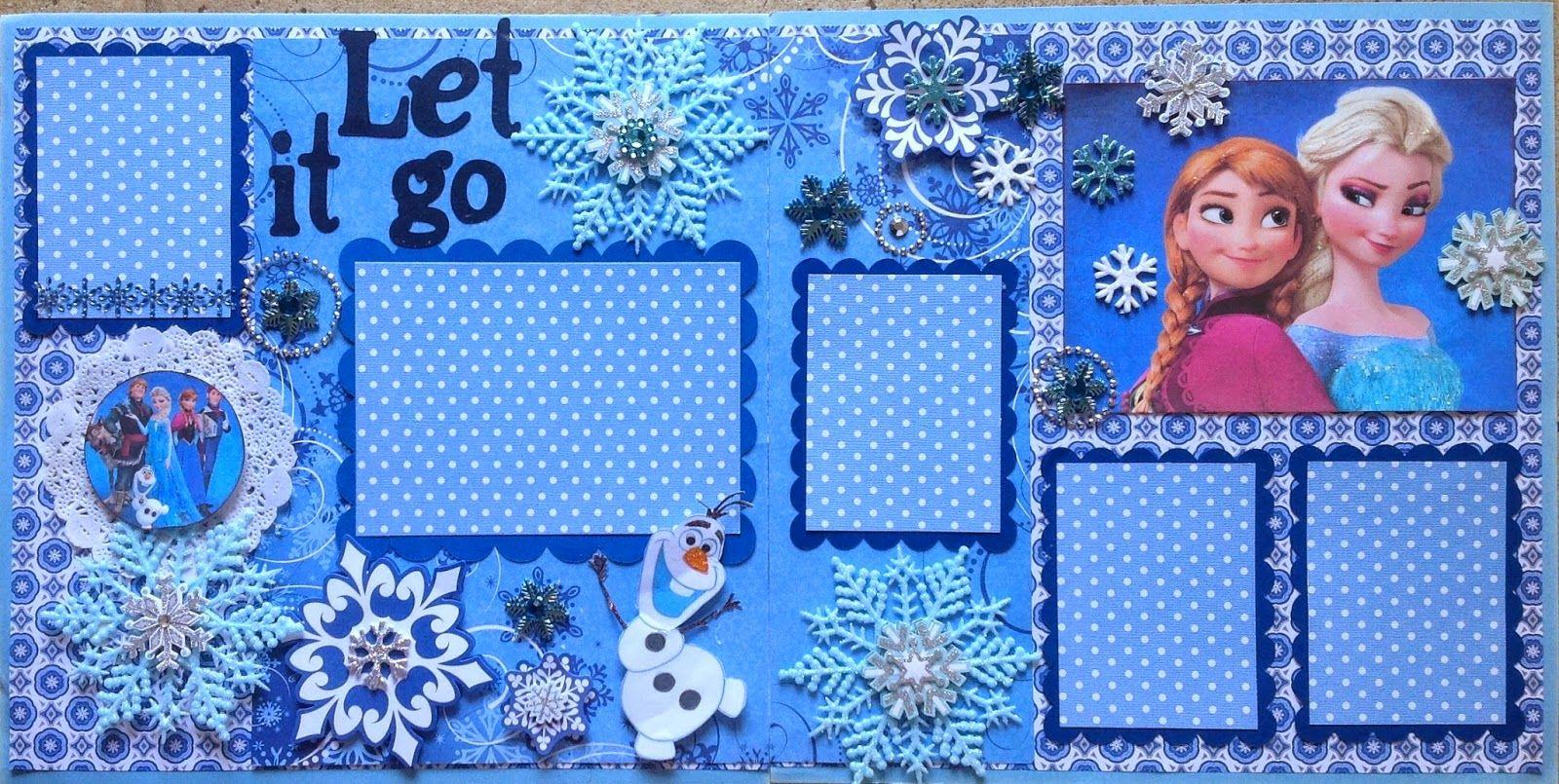 Amazing grace frozen disney scrapbooking layouts