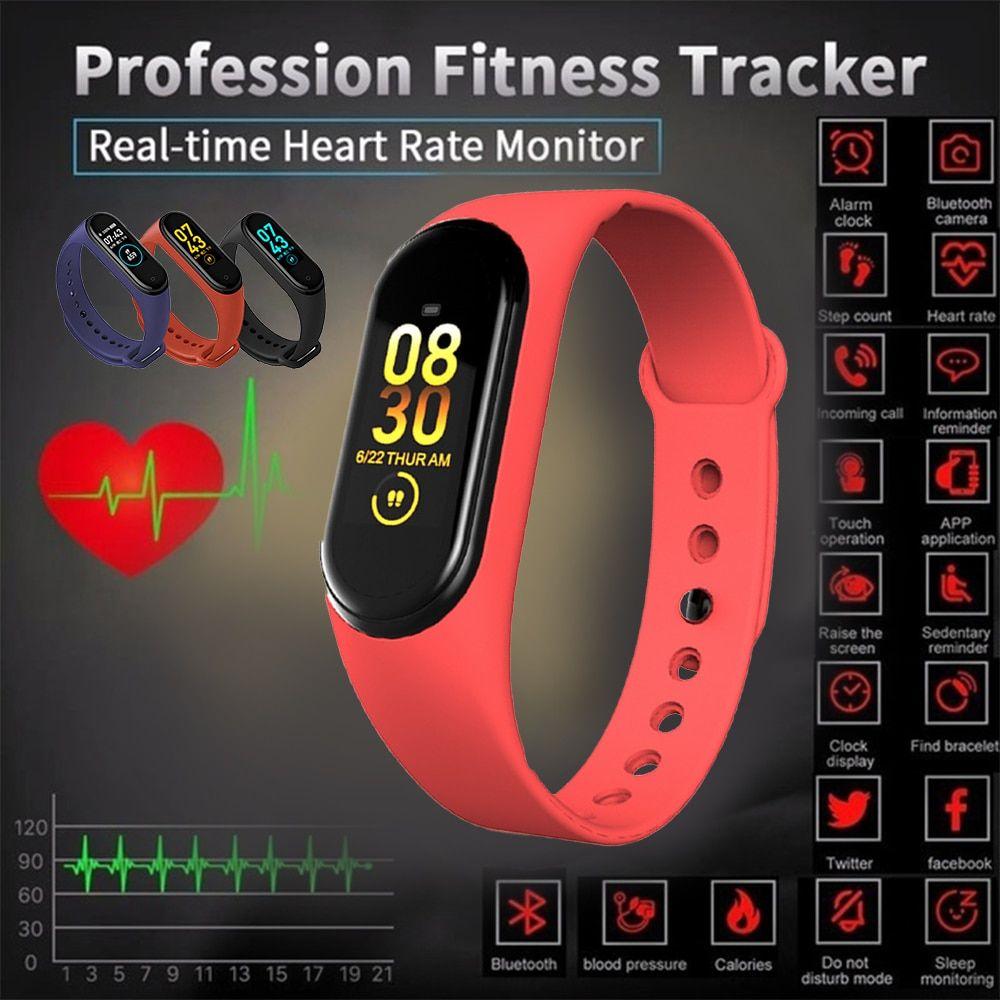M4 Smart Bracelet 0.96Inch Color Screen Smart Watch Sports