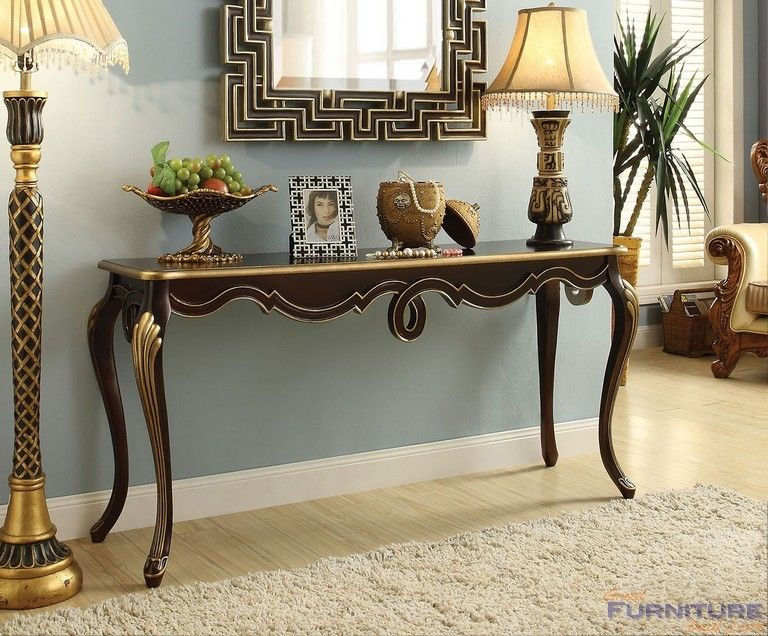 Acme Furniture   Shiloh Console Table, Bronze   97229
