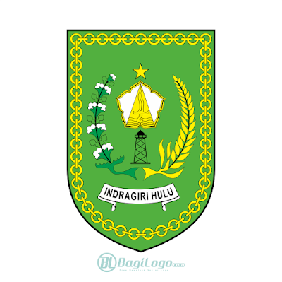 Kabupaten Indragiri Hulu Logo Vector Di 2020