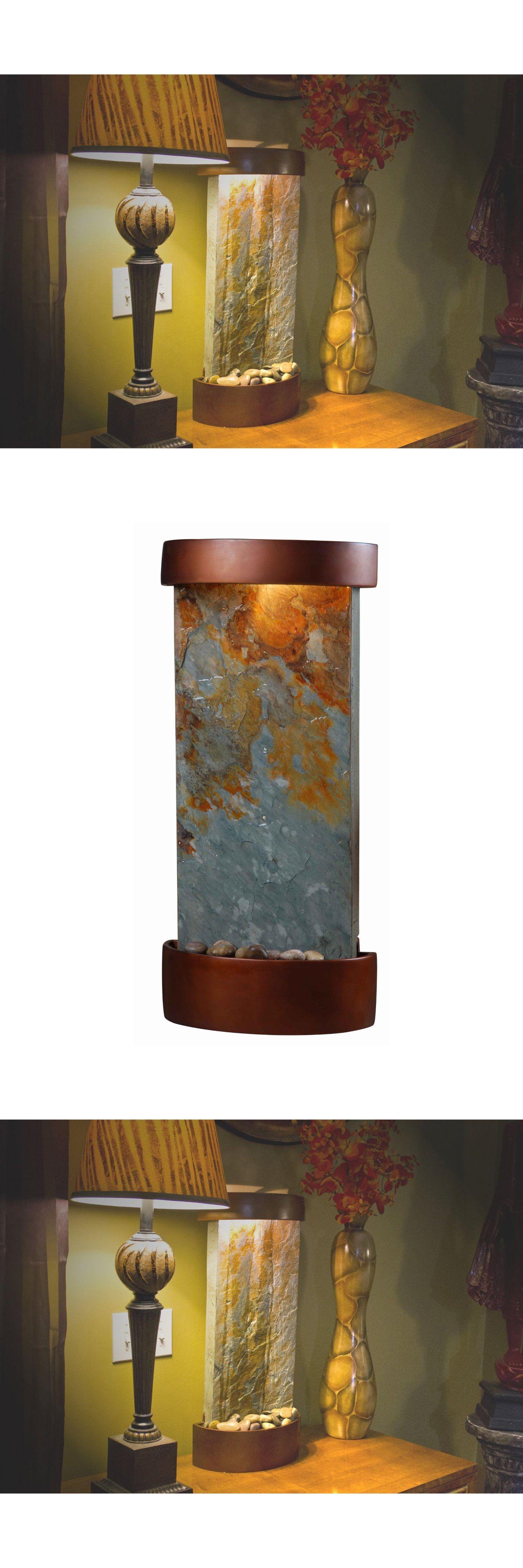 Indoor fountains 20569 indoor water fountain wall table mounted indoor fountains 20569 indoor water fountain wall table mounted lighted waterfall slate stone copper workwithnaturefo