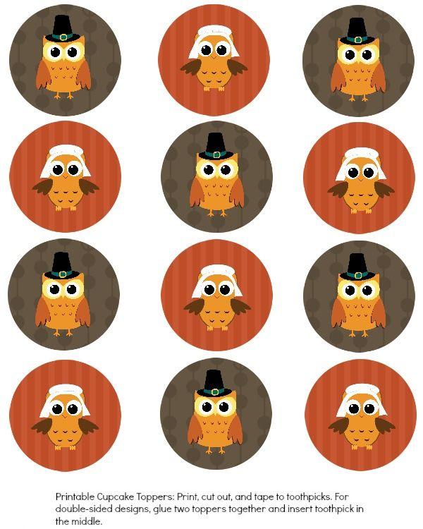 Thanksgiving Owl in Turkey Costume and Pilgrim Hat iPhone 11 case
