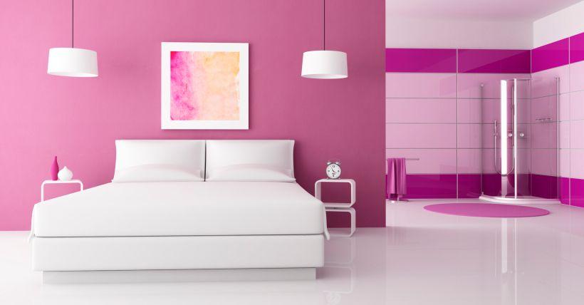 Pinturas para dormitorios de mujeres inspiraci n de - Diseno de pintura para interiores ...