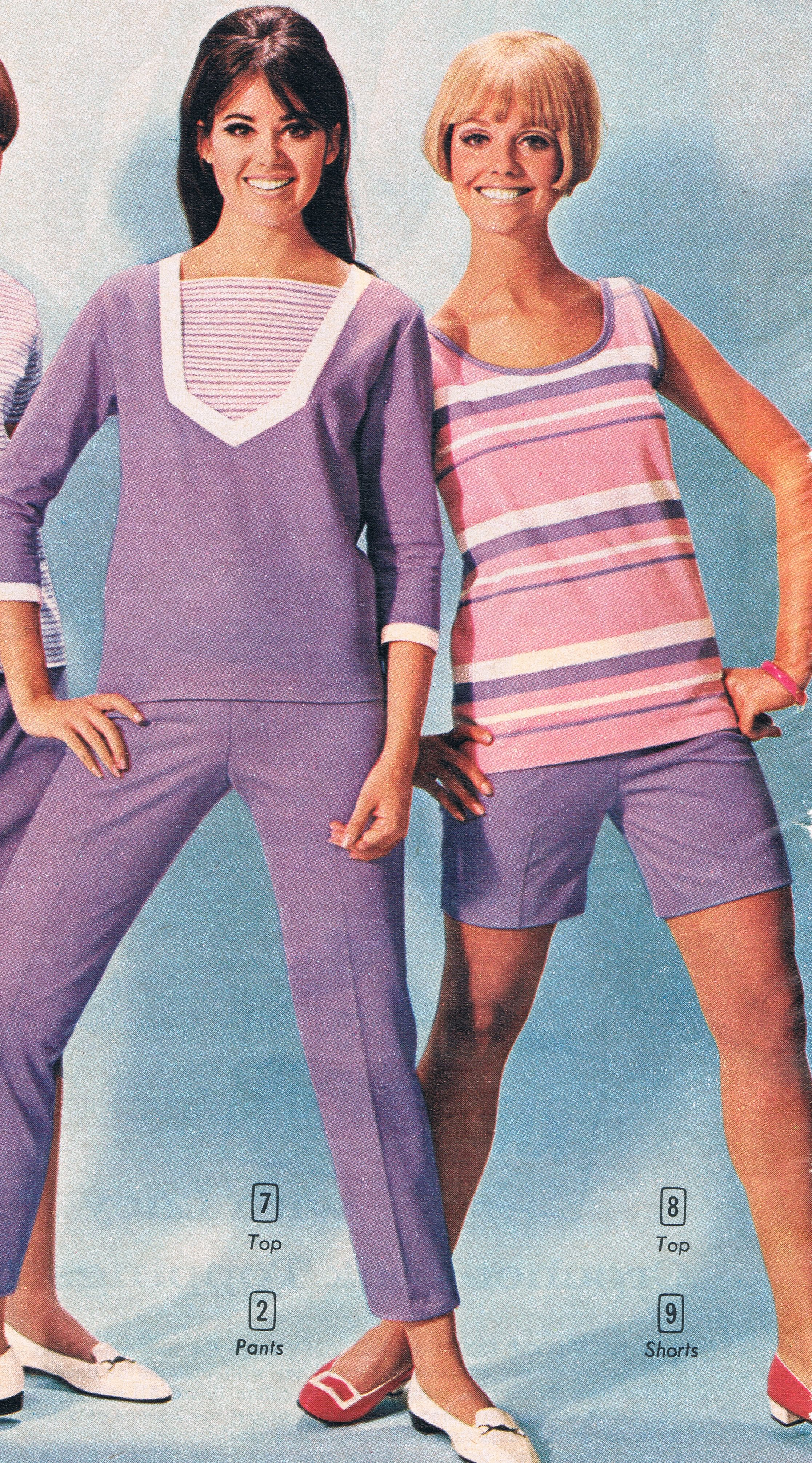 Aldens Catalog 60s. Colleen Corby And Cay Sanderson