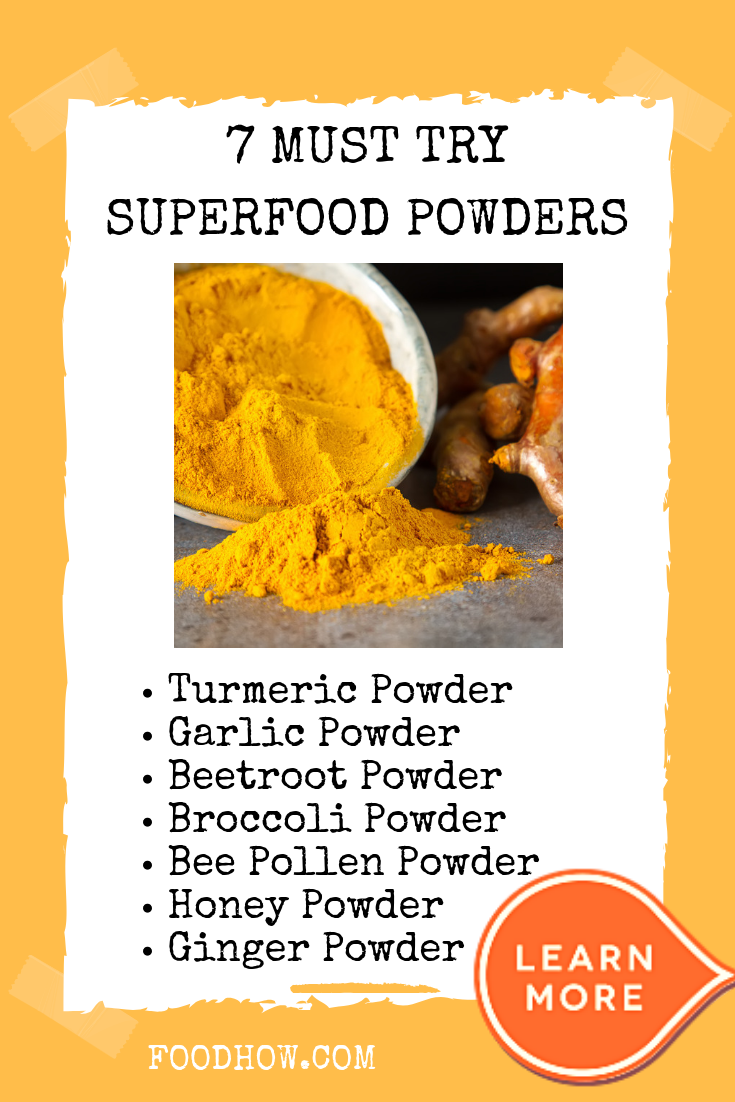 11 superfood powders – so much nourishment from one little
