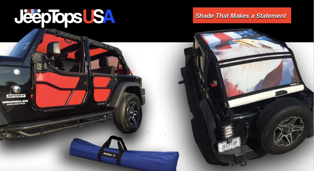Jeeptopsusa The Ultimate In Jeep Shade Tops And Accessories