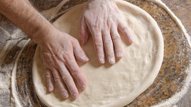 Pizzateig ohne Hefe - ein Rezept mit Quark