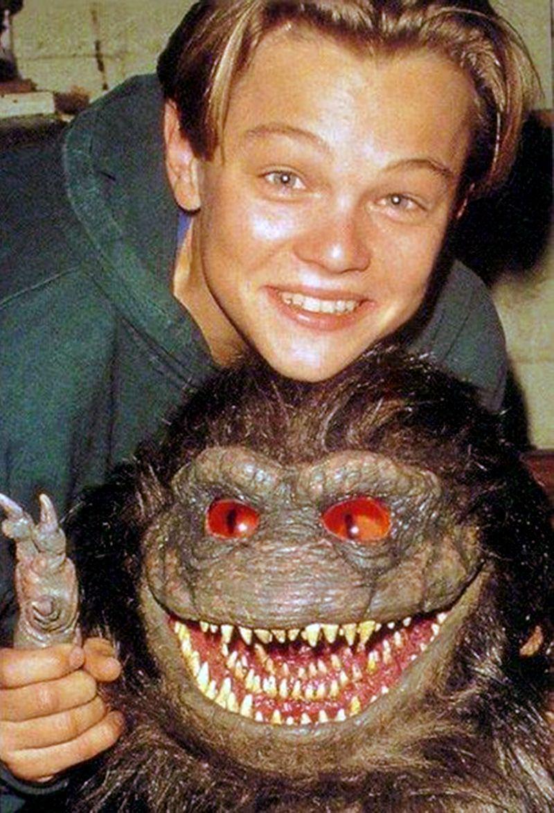 90's Club Kid | Leonardo DiCaprio on the set of Critter's 3, 1991