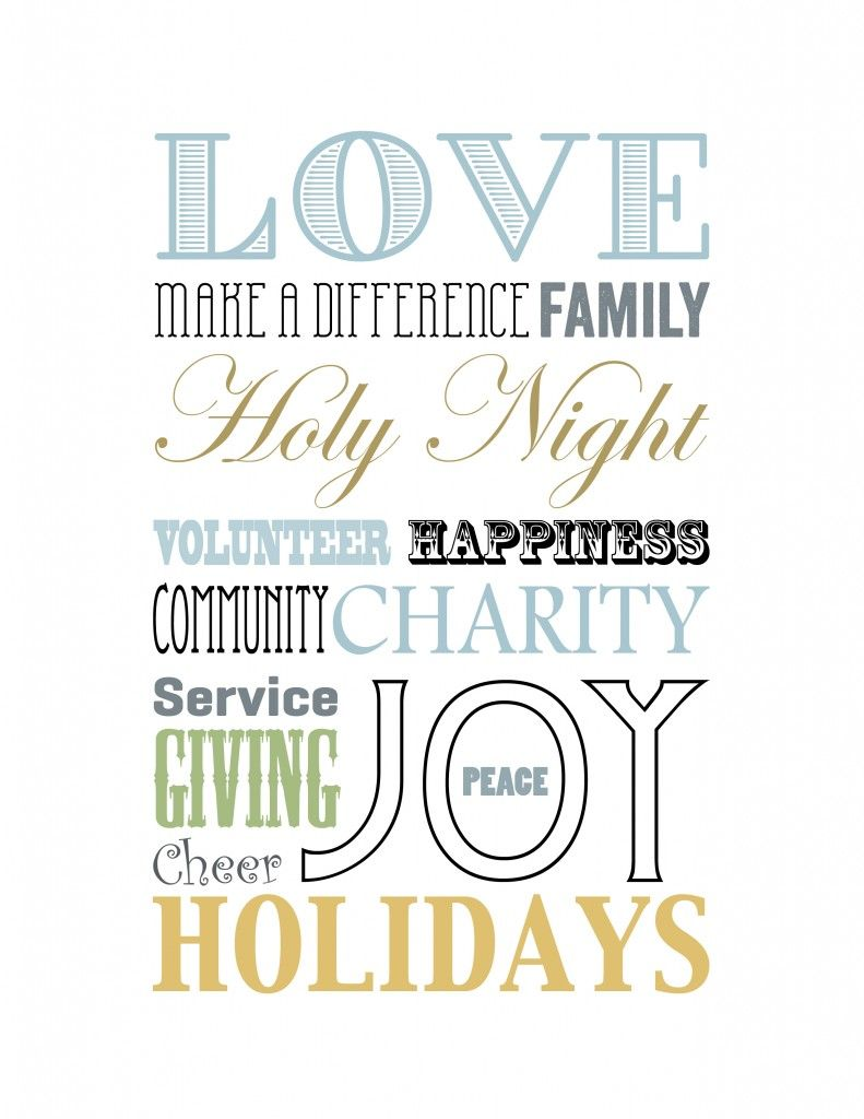 Downloads: Family Service Ideas eBook & Holiday Printables ...