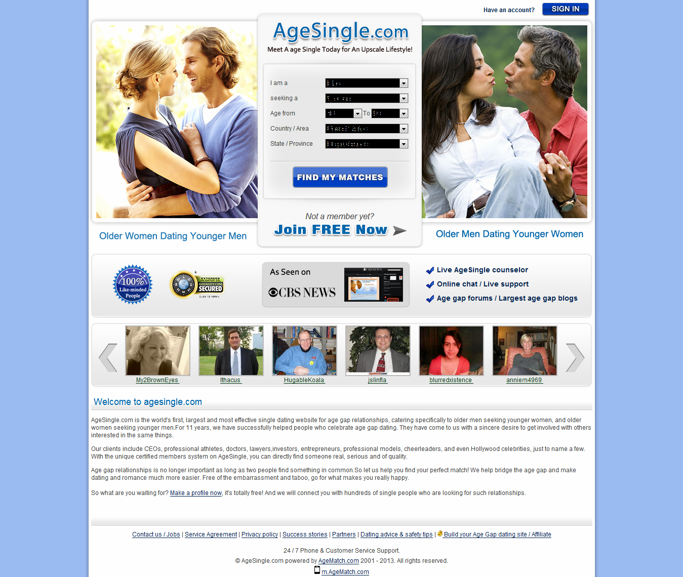 World largest dating website