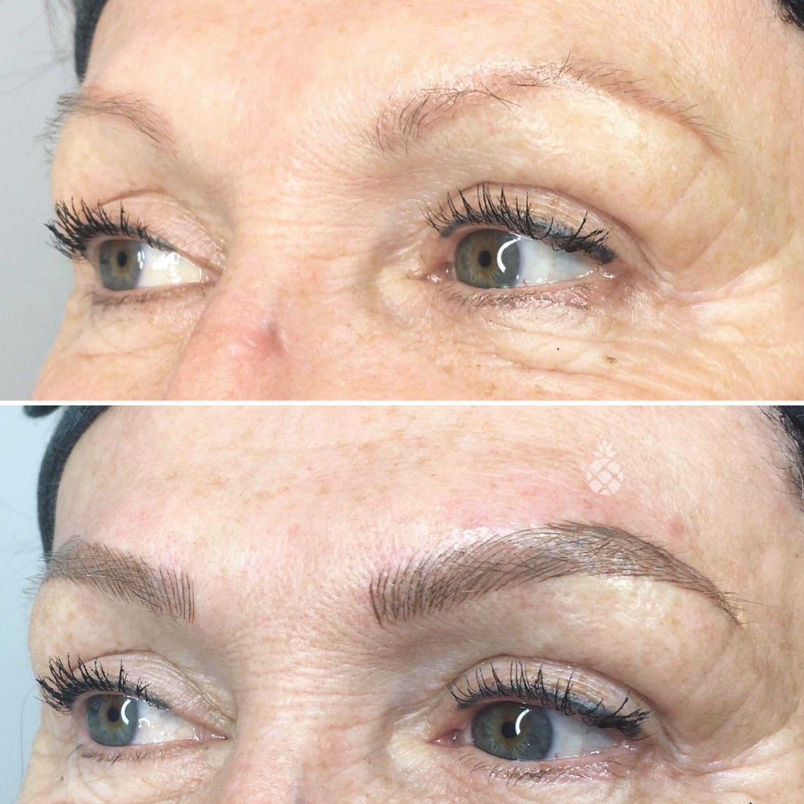 Microblading Semi Permanent Brows Semi Permanent Makeup