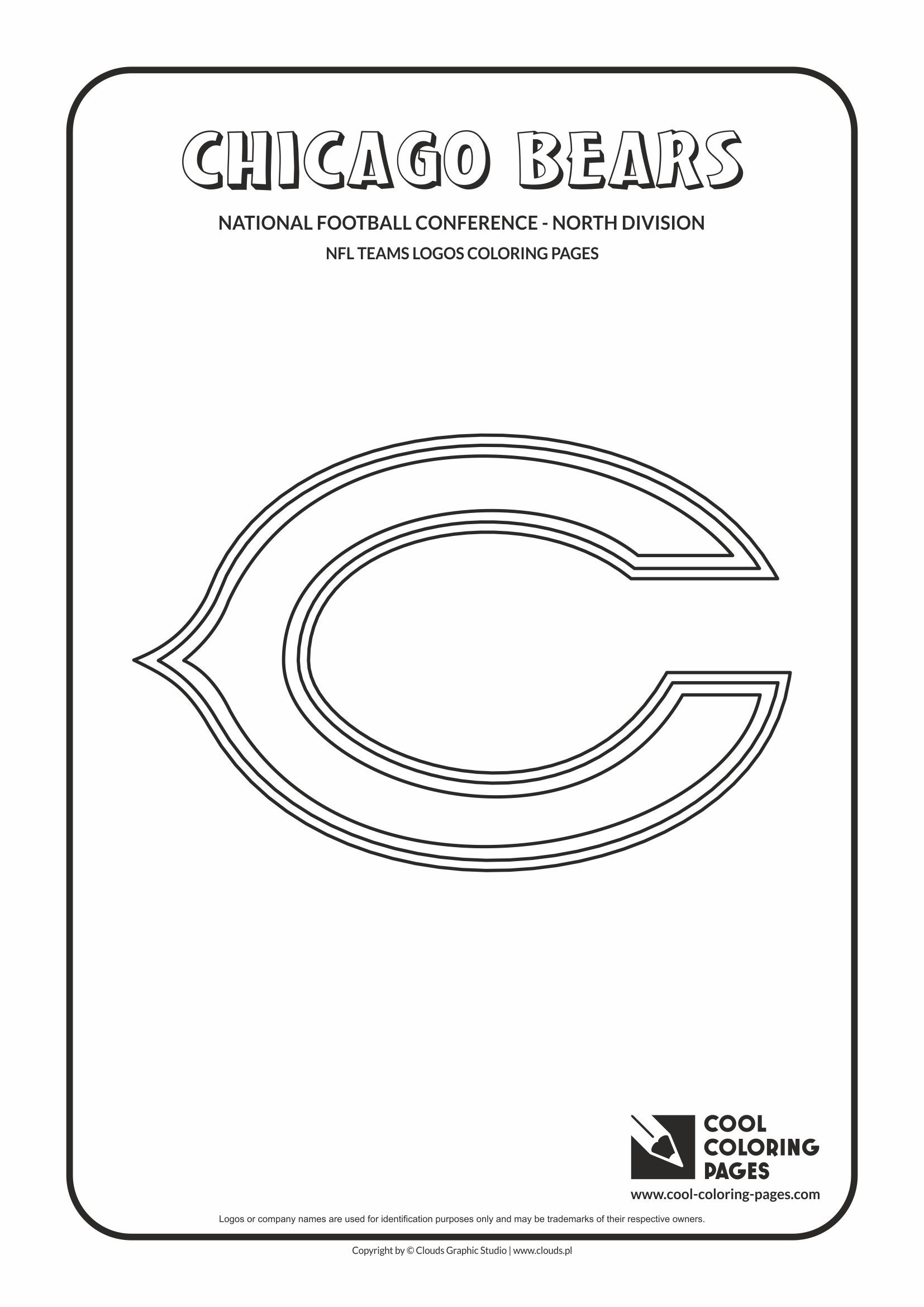 cool coloring pages nfl american football clubs logos national