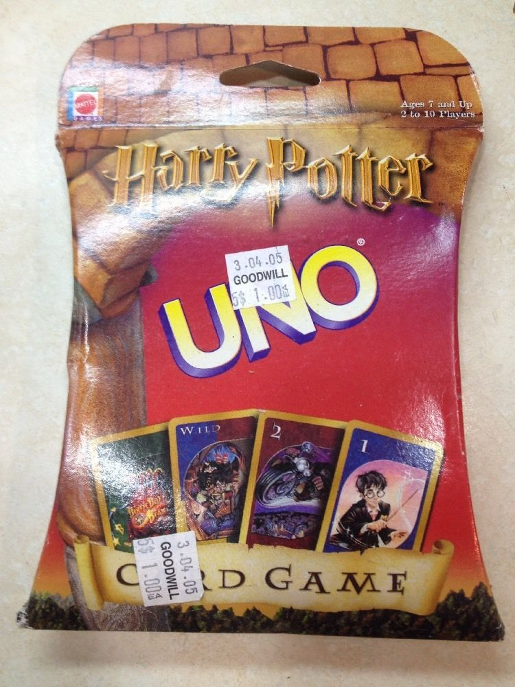 Harry Potter Uno Card Game Mattel Uno Card Game Card Games Potter