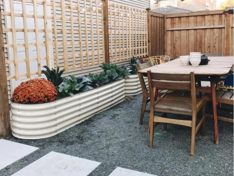 9 in 1 Modular Metal Raised Garden Bed   The Grommet®