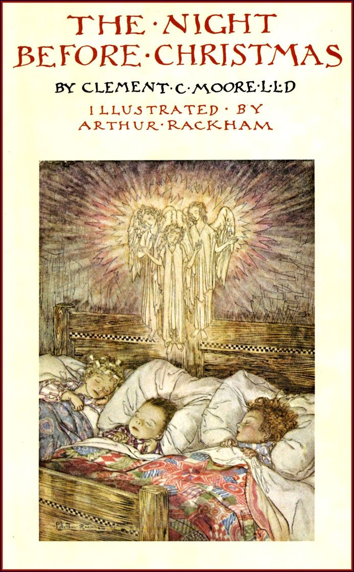 Arthur Rackham The Night Before Christmas (1931) (cover