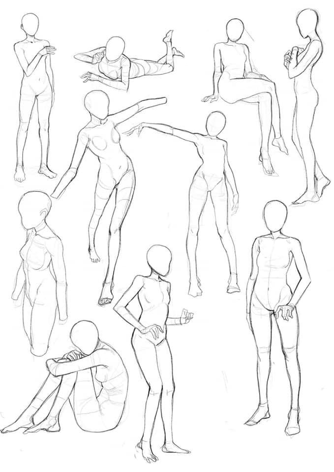 Facebook In 2020 Art Reference Poses Drawing Poses Sketches