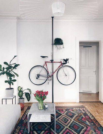 Bike Storage Apartment Small Living Rooms 23+ Super Ideas ...