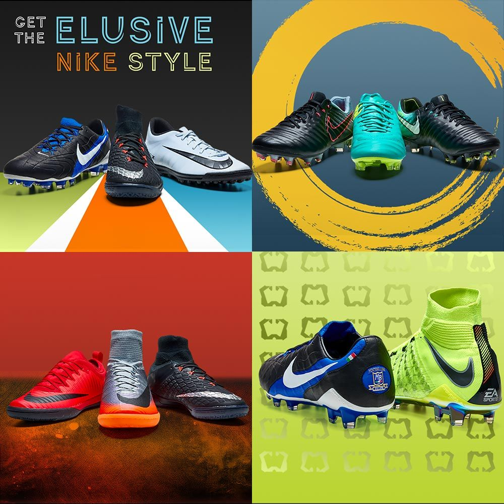 Shop for Nike Soccer Shoes at SoccerPro! Find the Mercurial Superfly,  Vapor, Magista, Hypervenom and Tiempo styles of soccer footwear.