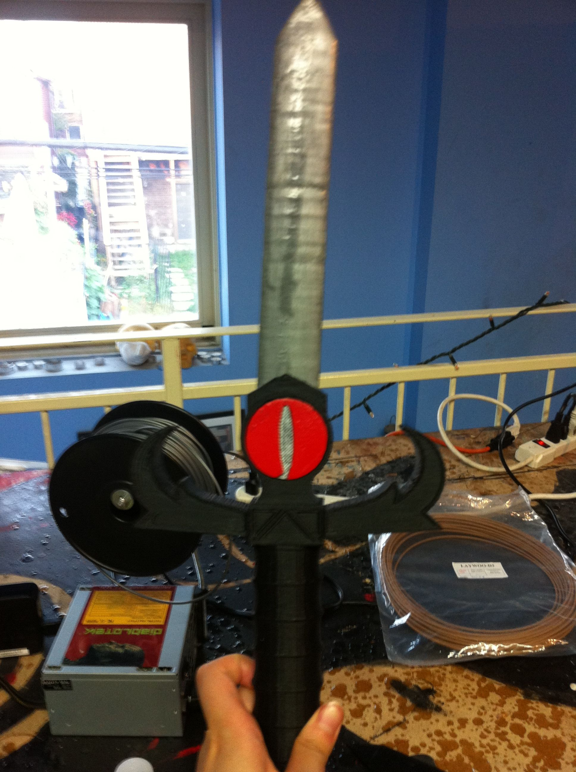 3d printed sword!