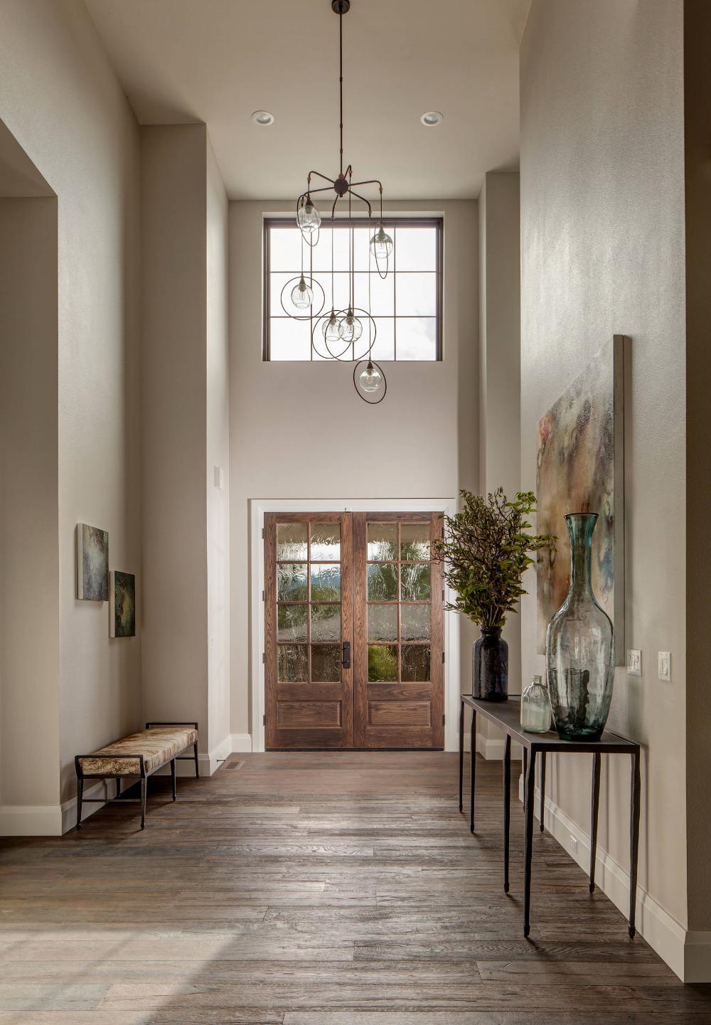 Popular Interior Design For Tv Showcase: 5,100 Sq. Ft. Modern Farmhouse Showcase Home