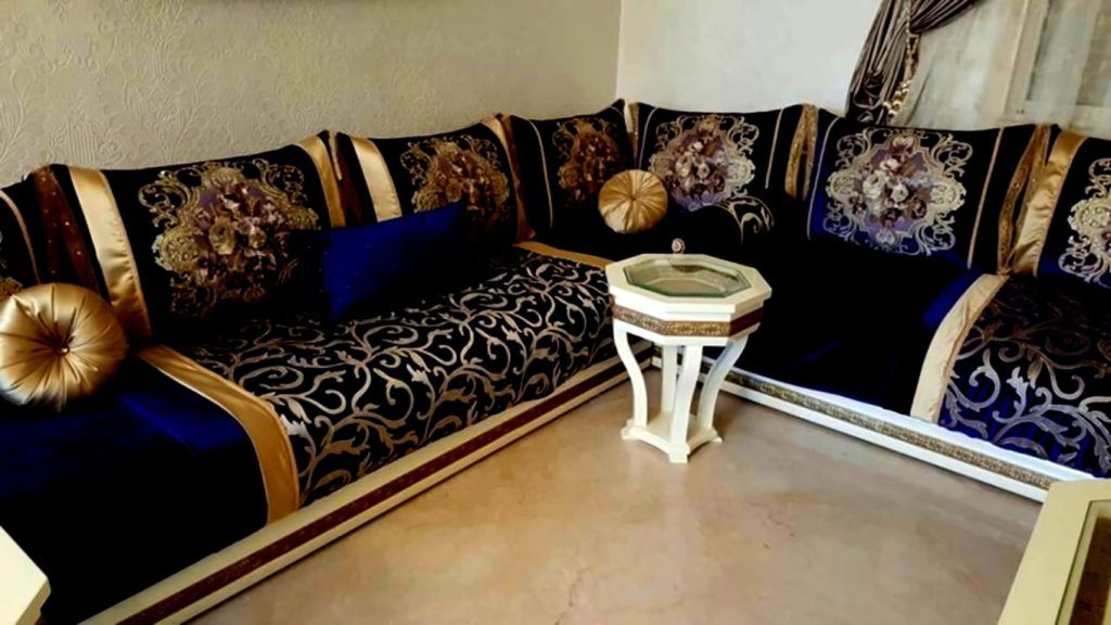 Elegant Salon Marocain Moderne Pas Cher à Montpellier
