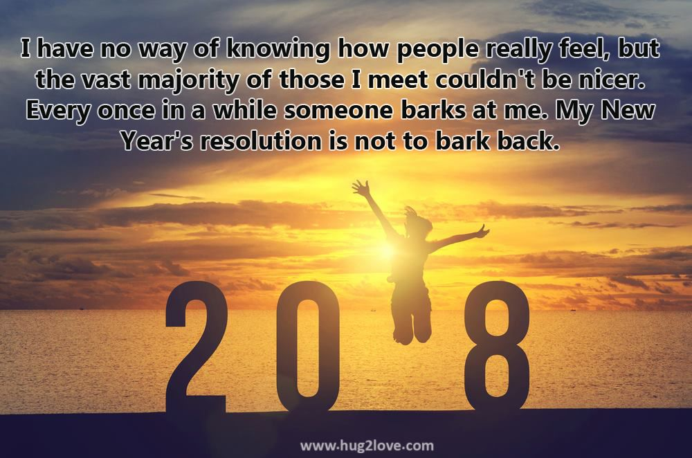 Happy New Year Resolution Quotes 2018 With Images. Inspirational New Year  Resolutions Jokes, Funny Wishes, Motivational Ideas For Students, Workers,  ...