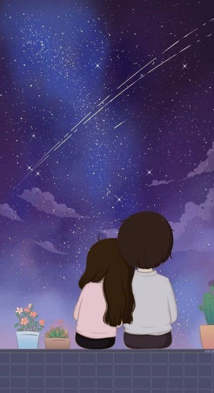 Pin By Mira Audy On Random With Images Cute Couple Wallpaper Cartoons Love Cute Love Images