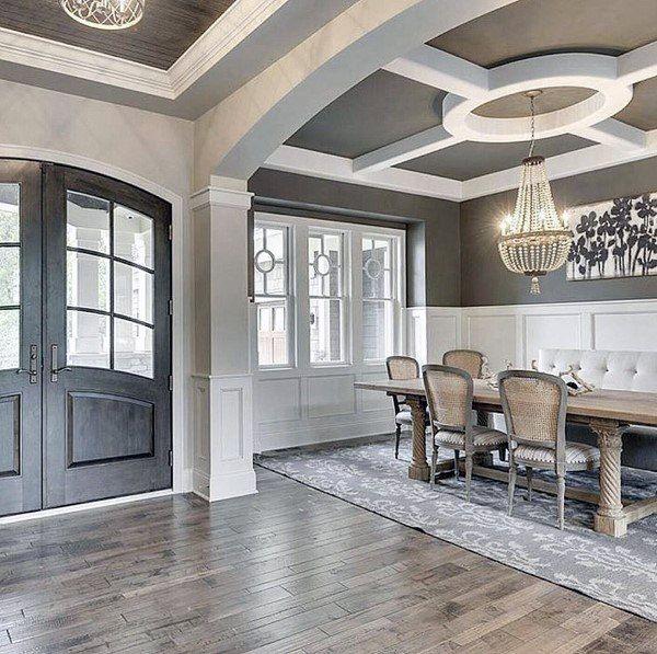 Top 80 besten Foyer Ideen – einzigartige Home Entryway Designs -   14 room decor Dining ceilings ideas