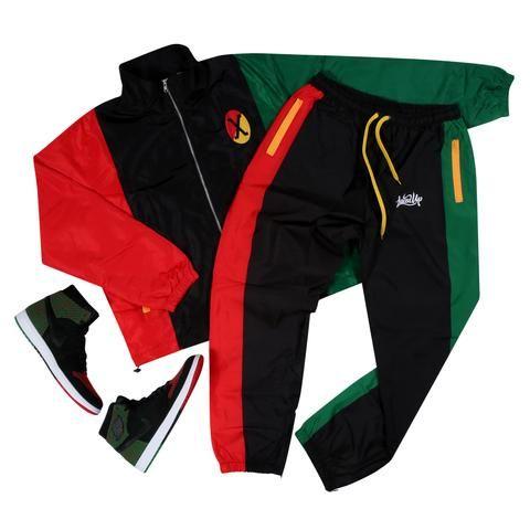 4f85c22c4bb5 Black History Month (Malcolm X) Track Suit Black History Month