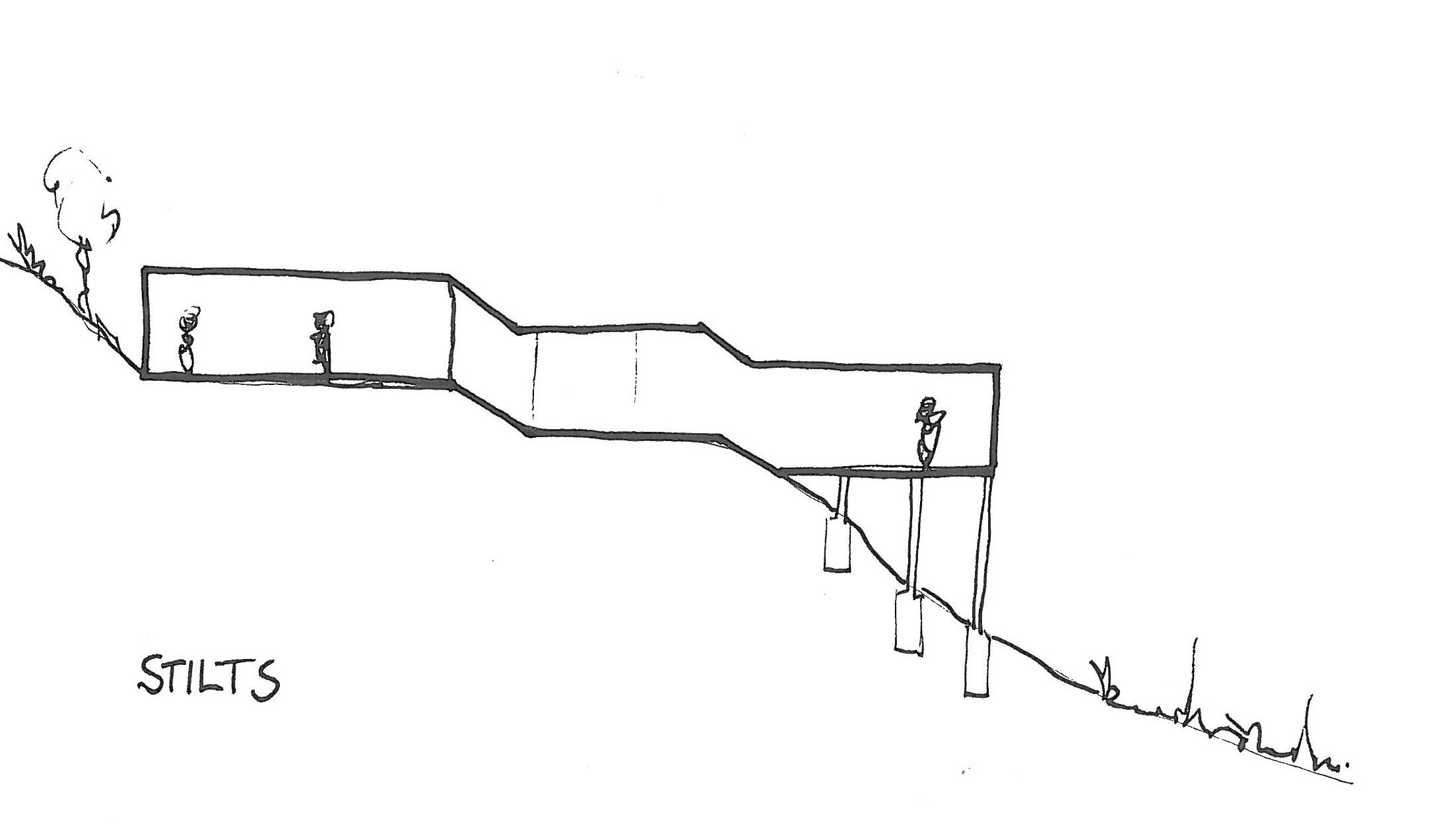 tips for building on a sloped terrain architecture and house