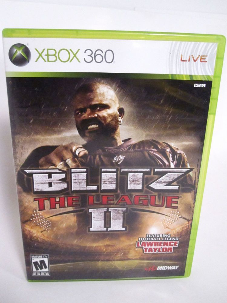 Blitz The League II Xbox 360 Microsoft Video Game with