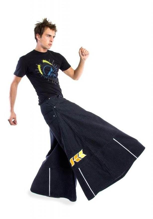 0a777900490 Kikwear Denim Phat Pants. Kikwear Denim Phat Pants Rave Pants
