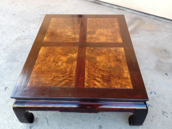 Beau Henredon Asian Coffee Table Ming Dynasty Style By New Vintage By Tosh