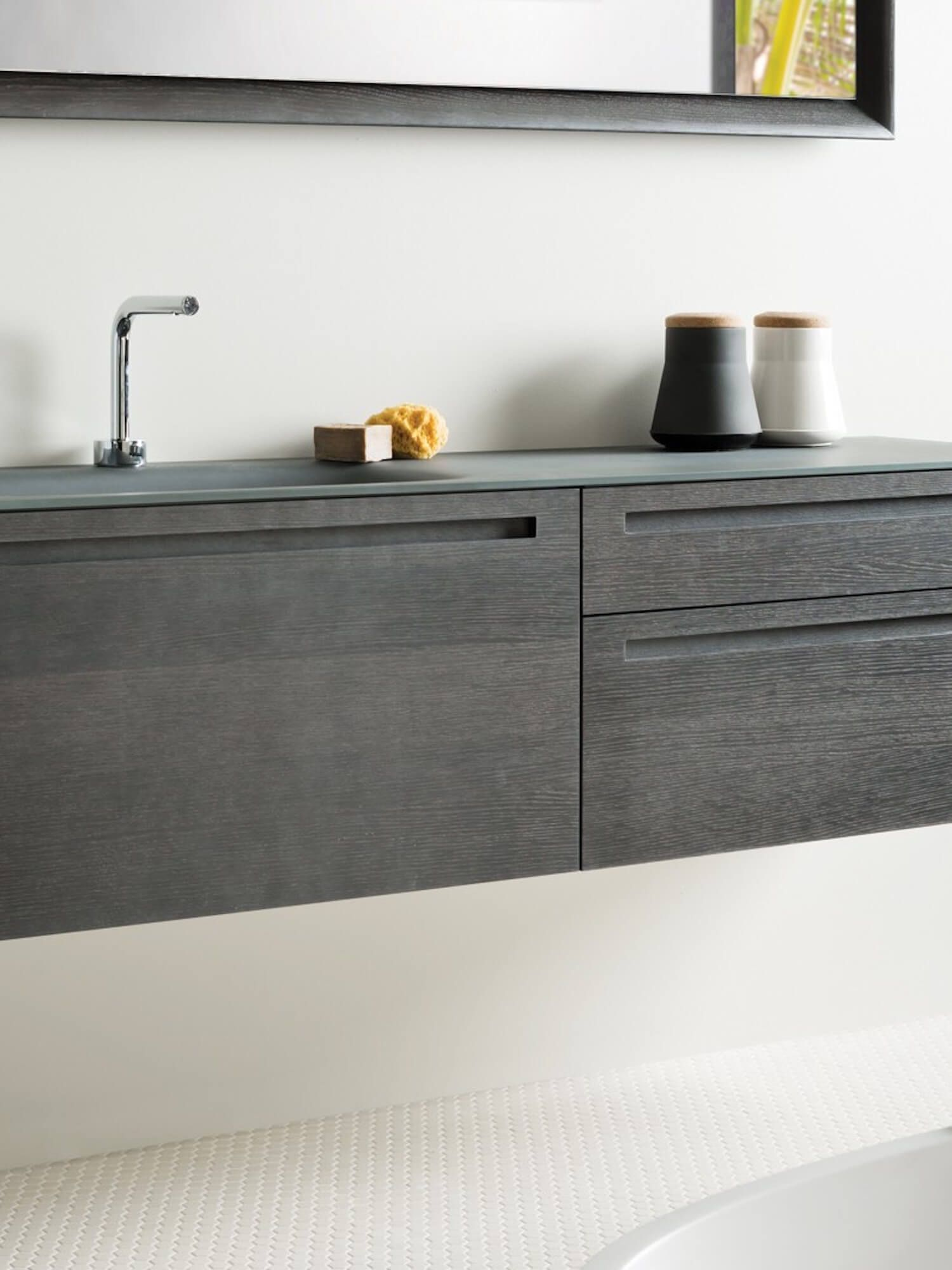 Built In Bathroom Furniture With